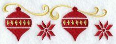 Nordic Christmas Ornaments Border- 12/13/15