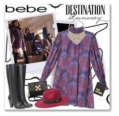 Destination Runway with bebe : Contest Entry by ambervogue on Polyvore featuring polyvore fashion style Bebe Hayden-Harnett clothing beiconic