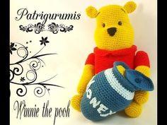 En este video os traigo un patrón de Winnie the pooh amigurumi, es de nivel…