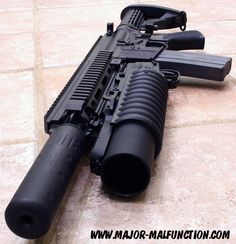 Nice!  Everyone needs a grenade launcher.