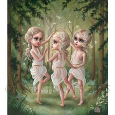 """The Three Graces"" by Mab Graves."