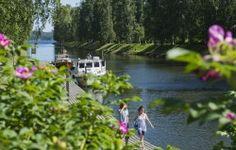 Vääksyn kanava Finland