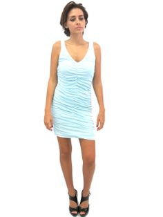 d63b65feb8200 boutique flirt - Velvet Cahill Dress Baby Blue