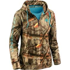 at www.deergear.com or on ebay.  Legendary Whitetail women's camo pullover.