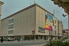 Brutalism - Tesco Shopping Center.  Brutalist building built in 1962
