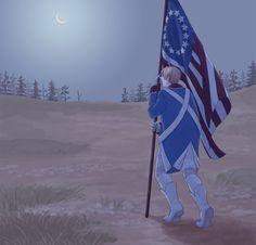 ぽ - Hetalia - America (Alfred F. Jones)