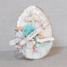 Card: Vintage Easter Eggs *DT Maja Design*