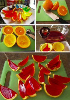 how to make rainbow gelatin