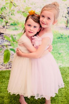 Style 298 Kid's Dream: Girls' Special Occasion Dress Line. Double Layered Mesh Dress Colors:  Ivory, Champagne, Pink, Black, Dusty Rose/Ivory, White, Red/Black, Champagne/Black Sizes: kids 2-14 #flowersgirls #weddingdress #weddingmagic #flower
