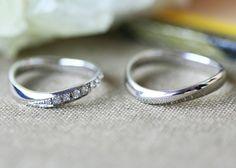 ithの結婚指輪 Vivace(ヴィバーチェ) [Pt900 marriage,wedding ,ダイヤモンド,diamond,ring,結婚指輪,マリッジリング]