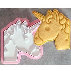 Unicorn Head Cookie Cutter Animal Fondant Cutter and Clay Cutter Biscuit Cutter