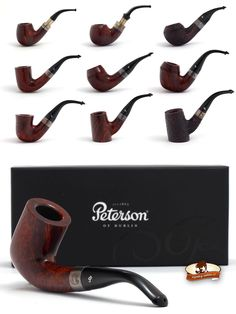 Peterson Sherlock Holmes Pipes