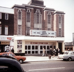 Odeon Hounslow West - saw many films here and above was the dancing school.