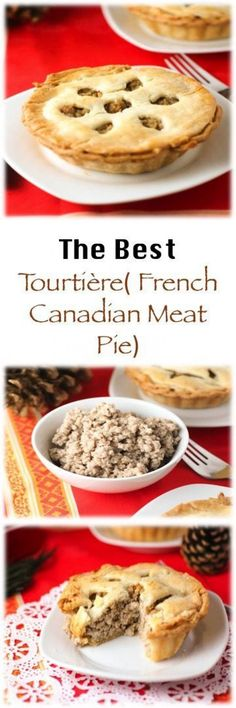 The Best Tourtière Recipe! French Canadian Meat Pie. #meatpie #tourtiere