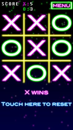 NeonTic Tac Toe by Appify Media