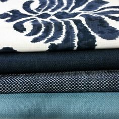 Crypton is suitable for a wide variety of uses including upholstery, slipcovers, drapery, and more. Easily clean up spills on upholstered items such as kitchen and dining chairs. Banquette Table, Crypton Fabric, Slipcovers, Damask, Blues, Upholstery, Decorating, Beach House, Fabrics