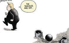 Robert Ariail Editorial Cartoon, October 13, 2016     on GoComics.com