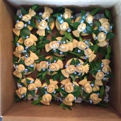 A bunch of mini Korovaichyky packed and ready to go
