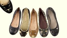 cat and mouse ballet flats