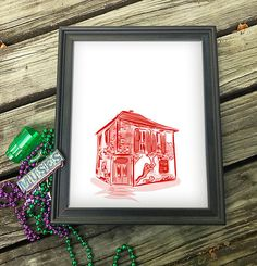 """Bacchanal NOLA Wall Art 