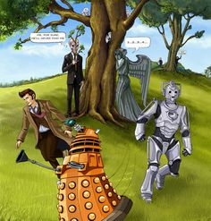 Doctor Who Hide and Seek. By Dameeleusys
