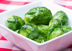 Roasted cooked Brussels sprouts...7g carbs for 6 sprouts