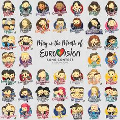 Its that time of year!!! #eurovision
