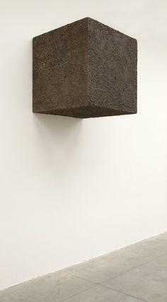 Pino Pascali, 1 metro cubo di terra on ArtStack #pino-pascali #art