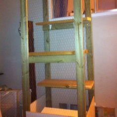 Small spaces for cats on pinterest outdoor cat enclosure cat cages and litter box - Litter boxes for small spaces paint ...