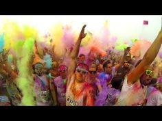 Awesome go pro video from TORONTO by flippedsociety from Canada. For you, we'll spell it Colour Me Rad ;)