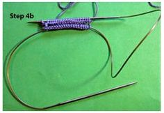 "This blog does a great job teaching you how to knit with the ""magic loop"" which uses circular needles instead of dpn's. I recommend trying this if you have large enough needles"