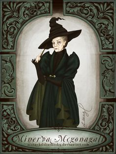 Minerva Mcgonagall by moonchildinthesky.deviantart.com on @deviantART