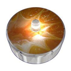 Orange Party Dot Design 022