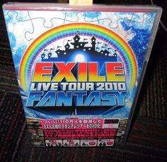 NEW EXILE LIVE TOUR 2010 - FANTASY 2-DISC DVD SET, JAPAN,  FIRST STADIUM TOUR