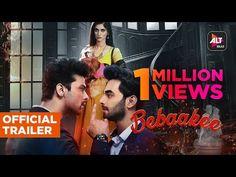 Bebaakee   Official Trailer   Starring Kushal Tandon ,Shivjyoti Rajput, Karan Jotwani   ALTBalaji - YouTube Official Trailer, India, Youtube, Movie Posters, Music Industry, Stockings, Goa India, Film Poster, Youtubers