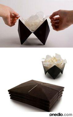 Katlanabilir Popcorn Kutusu