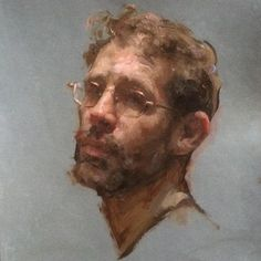 2015 Self portrait age 40 #paintingfromlife #portraitpainting #art…