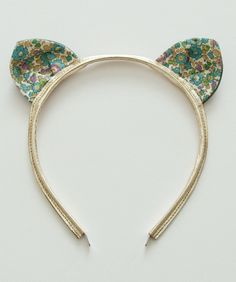 Woodstock London Kitty Headband, Betsy Ann Green