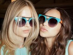 Blue - hot color for summer 2013