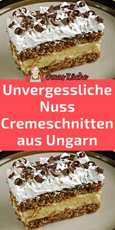 Easy Baking Recipes, Cake Recipes, Dessert Recipes, Yummy Cookies, Cake Cookies, No Bake Desserts, Easy Desserts, German Cake, Mary Recipe