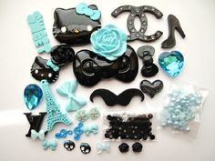 27 Mix Blue/Black HK Bling Bling Flat Back Resin Cabochon & Rhinestone Deco Kit Cell Phone by Kawaii Resin Cabochon, http://www.amazon.com/dp/B00BUI4N86/ref=cm_sw_r_pi_dp_SNrPrb1HXS1SP