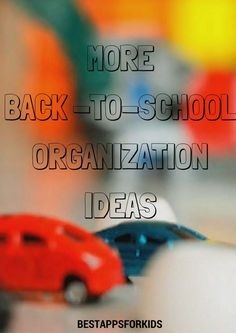 More Back-To-School Organization Ideas. Back To School Organization, Organization Ideas, Getting Organized At Home, Home Management, School S, Parenting, Education, Staying Organized, Onderwijs