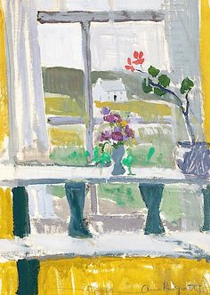 Anne Redpath, (British, 1895-1965) View from the Window, Hawick