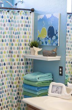 Boys bathroom themes, bathroom for kids, kid bathroom decor, simple bathroo Whale Bathroom, Kids Bathroom Sets, Kids Bathroom Accessories, Kid Bathroom Decor, Girl Bathrooms, Childrens Bathroom, Baby Bathroom, Neutral Bathroom, Bathroom Interior