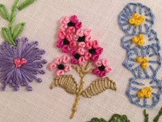 Colonial Knot Stitch