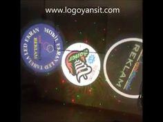 Logo Yansıt Dış Ortam Dönen Logo ve Lazer Video Sunumu - YouTube