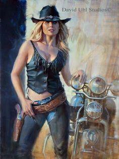 Harley Davidson Events Is for All Harley Davidson Events Happening All Over The world Harley Davidson Kunst, Harley Davidson Motorcycles, Motorcycle Art, Bike Art, Biker Chick, Biker Girl, David Mann Art, 3d Fantasy, Triumph