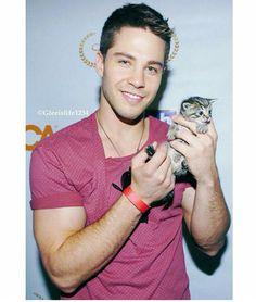 Dean Geyer - Glee Brody kitten!
