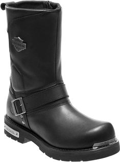 online shopping for Harley-Davidson Men's Paxford Performance Black Motorcycle Boots from top store. See new offer for Harley-Davidson Men's Paxford Performance Black Motorcycle Boots Botas Harley Davidson, Harley Davidson Street Glide, Harley Davison, Harley Davidson Merchandise, Cafe Racer Build, Motorcycle Boots, Motorcycle Garage, Biker Boots, Bike Shoes