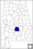 Lowndes County--The county is characterized by rolling prairies and flat plains dotted with pine and oak forests.